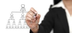 Organizacijos valdymo struktura